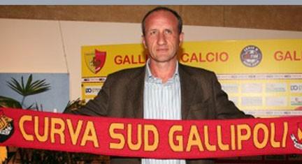 Ezio Rossi, allenatore Gallipoli