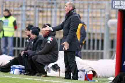 Franco Lerda durante Piacenza-Torino