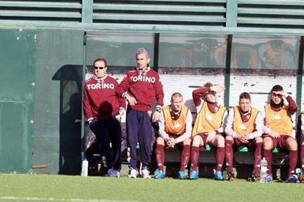 Roberto Fogli in panchina