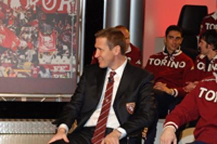 Silvano Benedetti in versione ospite televisivo