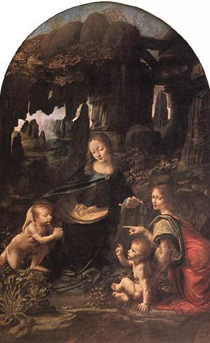 Madonna, Gesù e San Giovannino