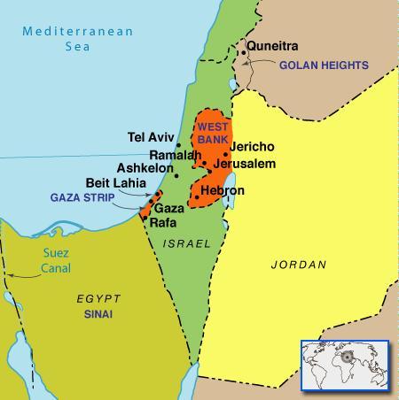 Israele E Palestina Cartina.Mappa Della Terra Santa Israele E Palestina 12 12
