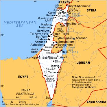 Israele E Palestina Cartina.Toscana Meravigliosa Le Guide Di Supereva