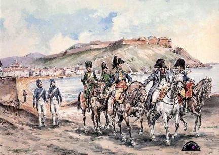 Napoleone Bonaparte Re dell'Isola d'Elba