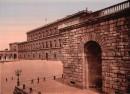 Palazzo Pitti e Piazza Pitti a Firenze