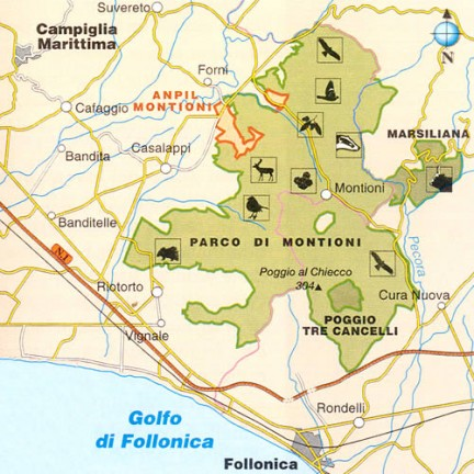 Parco Naturale interprovinciale di Montioni