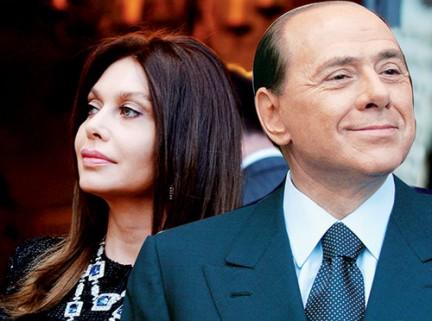 Veronica Lario in Berlusconi