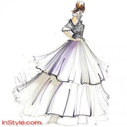 disegni vestiti stilisti