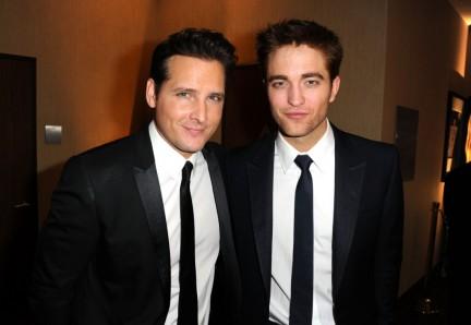 Peter Facinelli e Robert Pattinson