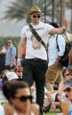 Kellan Lutz - Coachella Festival