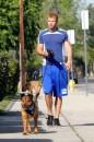 Kellan Lutz: jogging e lettura