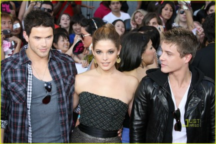 Kellan, Ashley e Xavier