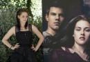 Kristen Stewart e Taylor Lautner: photocall Roma