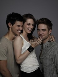 Kristen, Taylor e Robert