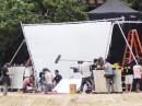 Robert e Kristen: riprese in spiaggia (13 Novembre)