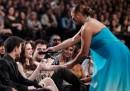 Robert, Kristen e Taylor ai People's Choice Awards