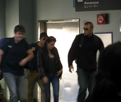 Robert Pattinson e Kristen Stewart - Arrivo Brasile