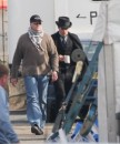 Robert Pattinson: set Bel Ami