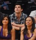 Taylor Lautner: L.A. Lakers