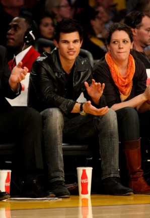 Taylor Lautner - Los Angeles e Lakers