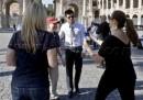 Taylor Lautner visita Roma