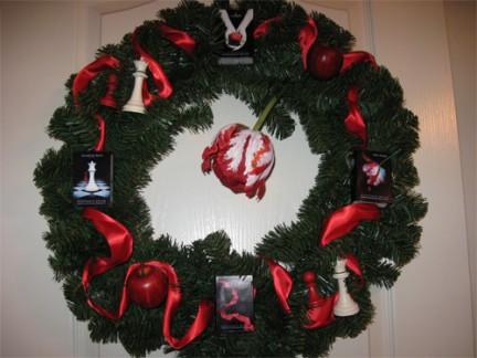 Decorazioni natalizie in tema twilight for Decorazioni natalizie personalizzate