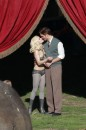 Water for elephants: foto dal set,…