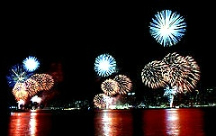 Fuochi artificiali Indipendence Day