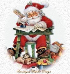 Babbo Natale e le letterine