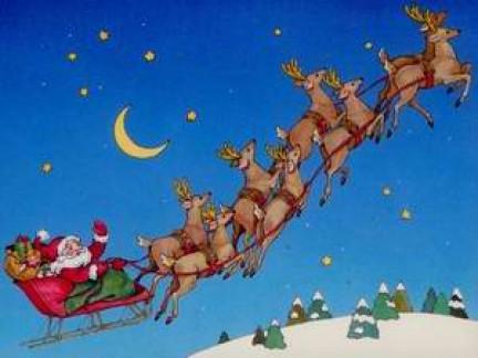 Babbo Natale Canzone.Canzone Di Natale Here Comes Santa Claus