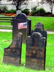 Lapidi di un cimitero americano