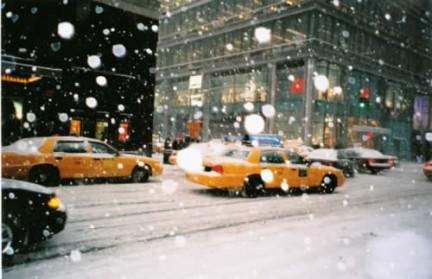 Neve a New York