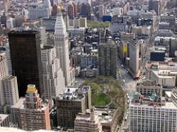 Madison Square e il Flatiron building