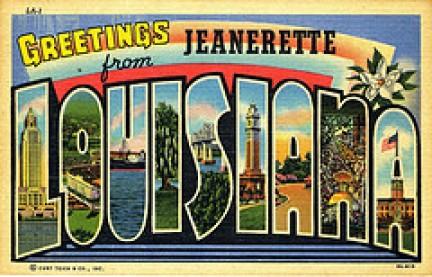 Cartolina della Louisiana