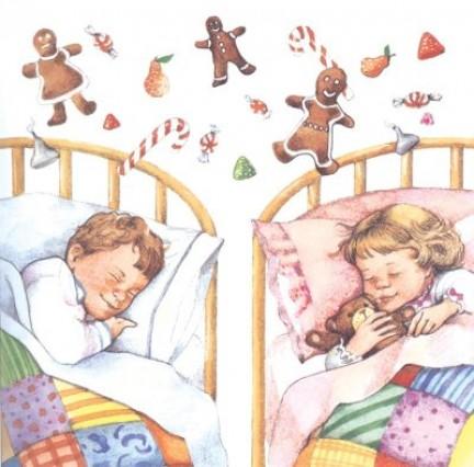 Dormono i bambini la Notte di Natale