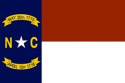 Bandiera dello Stato del North Carolina