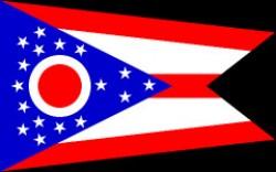 Bandiera dello Stato dell'Ohio