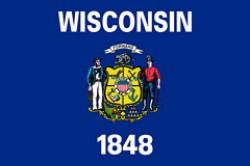 """""""Bandiera dello stato del Wisconsin"""""""