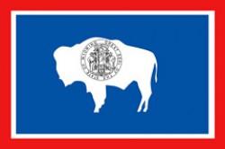 """""""Bandiera dello stato del Wyoming"""""""