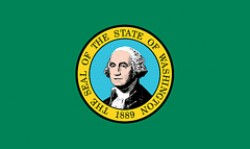 """""""Bandiera dello stato di Washington"""