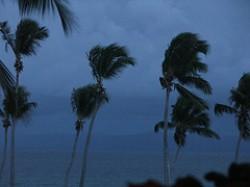 """Principio di uragano"""