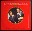 Copertina di un disco di Bing Crosby con David Bowie