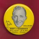 Ritratto di Crosby su un disco