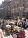 Bancarelle a SOHO Broadway