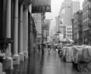 Pioggia a Broadway