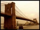 Brooklyn bridge - il ponte sospeso sul fiume East River