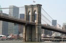 Visuale del Brooklyn bridge