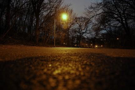 La notte scende su Prospect Park