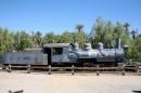 Una vecchia locomotiva al Death Valley National Park