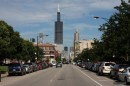 Willis Tower da Garibaldi Square